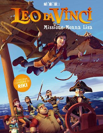 """""""Leo da Vinci – Missione Monna Lisa"""", appassionante e divertente film di animazione"""