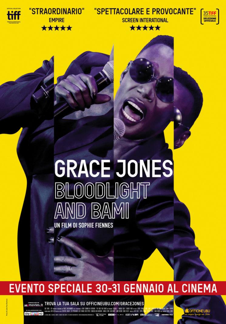 """""""Grace Jones: Bloodlight and Bami"""", un film spettacolare nei cinema solo il 30 e 31 gennaio"""