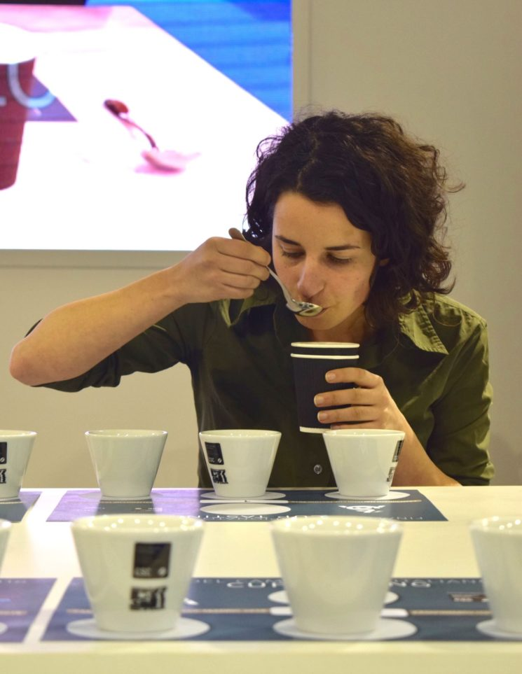Helena Oliviero campionessa italiana di Cup Tasting con CSC
