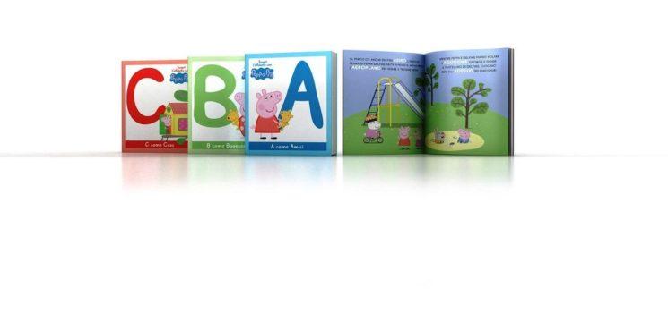 Imparare l'alfabeto con Peppa Pig. In edicola con il Corriere della Sera e La Gazzetta dello Sport