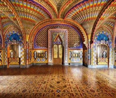 Il Castello di Sammezzano (Toscana) tra i 12 monumenti più a rischio in Europa