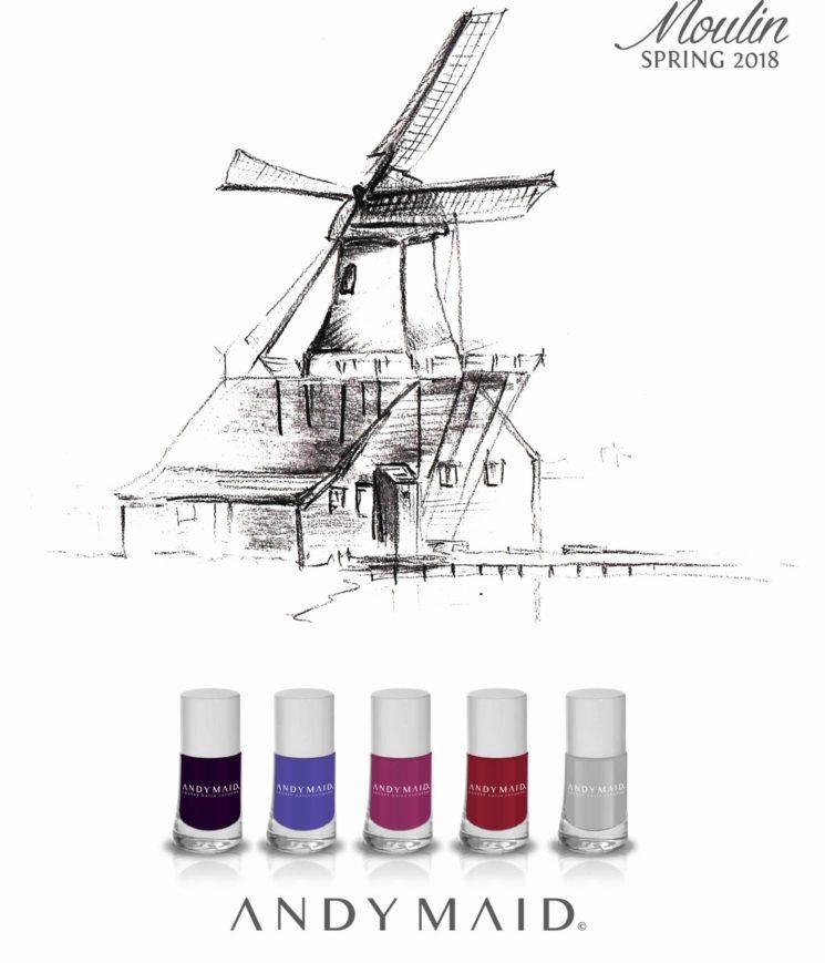 Moulin Spring 2018, nuova collezione smalti firmata Andy Maid