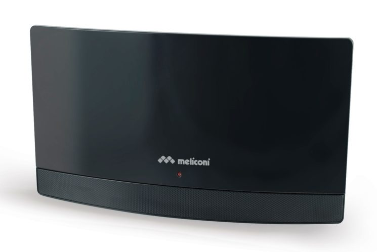 Antenna da interno Meliconi AT 55 da oggi anche nel colore total black