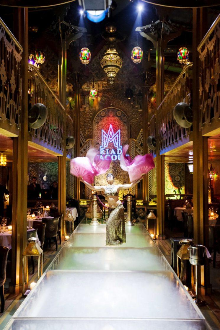 A cena al Ristorante Riad Yacout in occasione della Milano Fashion Week