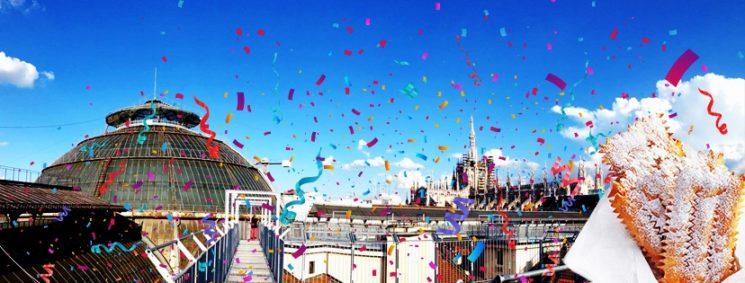 Milano: festa di Carnevale su Highline Galleria