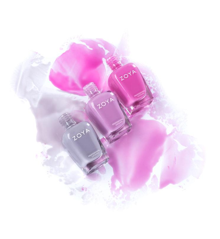 """Zoya: smalti  Kisses, 3 colori dalla nuova finitura """"jelly"""""""