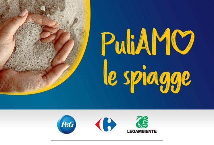 """Al via """"Puliamo le spiagge"""". P&G e Carrefour insieme a sostegno di Legambiente per la sensibilizzazione sull'inquinamento del mare"""