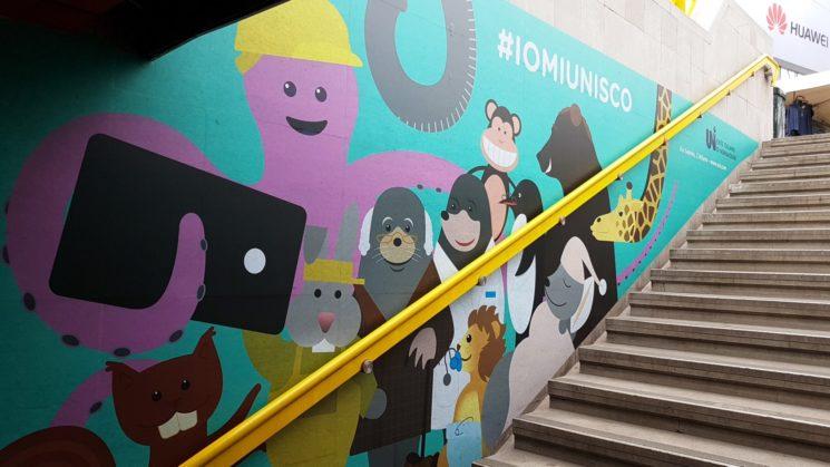 #IOMIUNISCO: la nuova campagna di UNI veste la metro Lodi TIBB a Milano