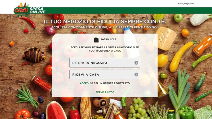 Il Gruppo CRAI lancia Crai Spesa Online, l'e-commerce di prossimità