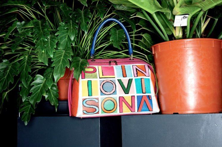 Colorate, originali e versatili le borse Plinio Visonà per la bella stagione