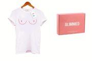 """Glimmed: una limited edition della """"Boobs T-Shirt"""" per sostenere la Fondazione Umberto Veronesi"""