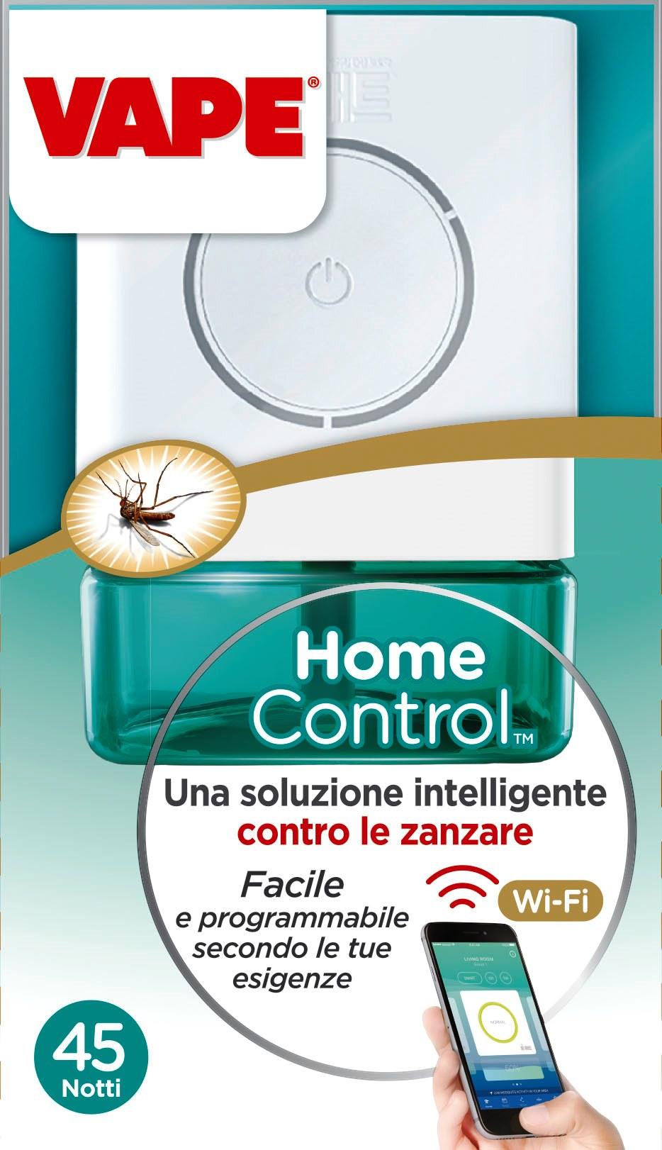 Vape homecontrol il primo dispositivo iot contro le - Contro le zanzare in casa ...