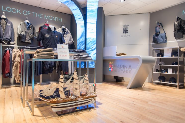 Nuove aperture per Marina Militare Sportswear