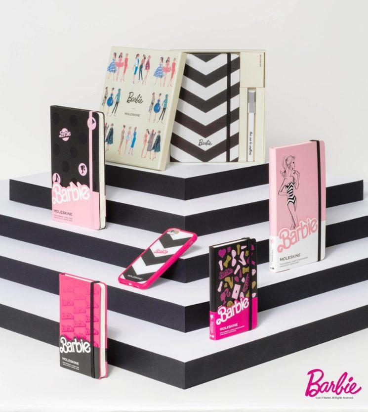 Moleskine lancia la nuova Barbie Limited Edition Collection