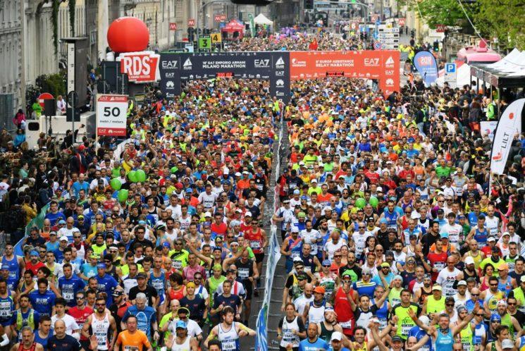 Successo dell'EA7 Emporio Armani Milano Marathon 2018