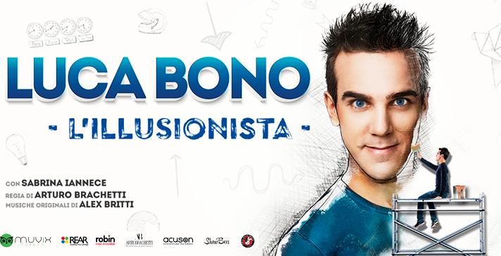 Luca Bono – L'illusionista al Teatro Manzoni di Milano il 3 aprile ore 20.45