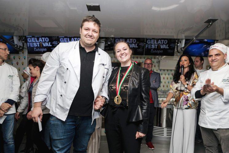 Gelato Festival 2018 a Milano: medaglia d'oro al gelatiere Croce