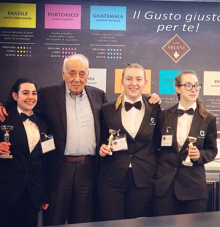 Caffè Milani Competition 1ª edizione: podio in rosa