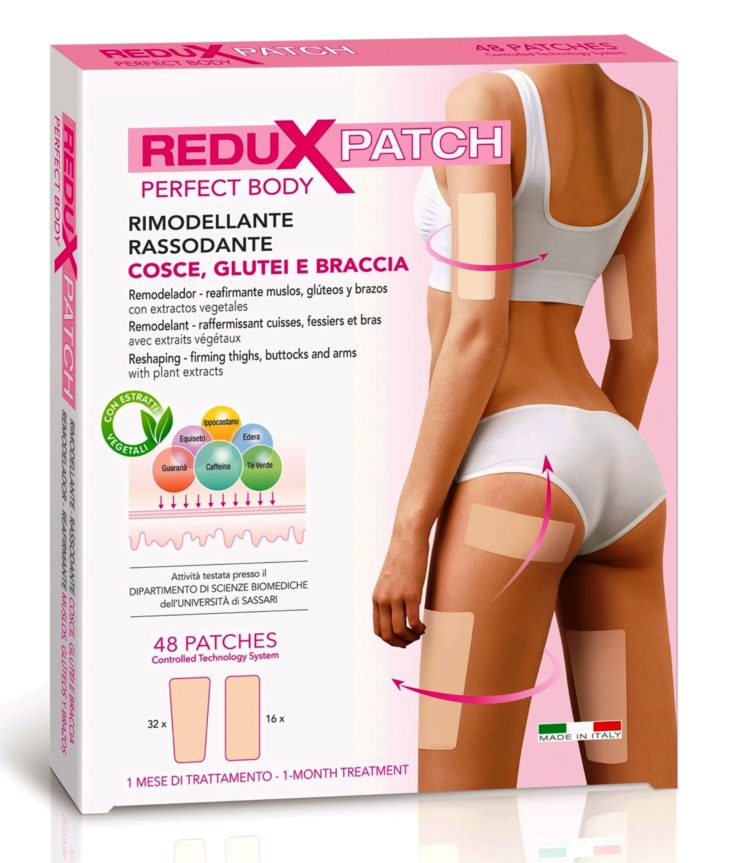 Planet Pharma: Redux Patch Perfect Body Rimodellante Rassodante Cosce Glutei e Braccia