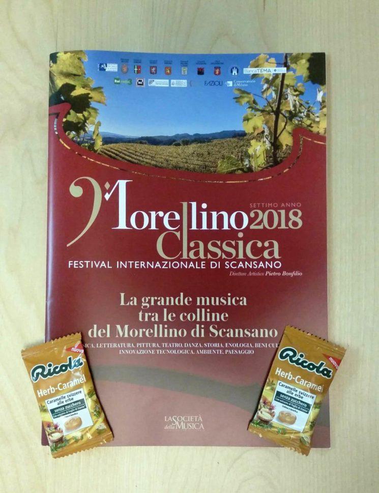 Ricola al Morellino Classica Festival 2018