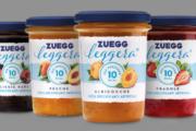 Zuegg Leggera, nuova confettura con poche calorie e naturale