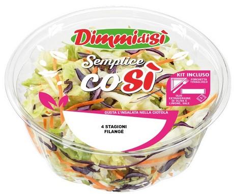 Novità Dimmidisì: Semplice Così, le buone insalate fresche… prêt-à-manger