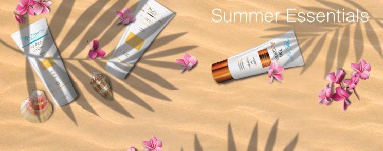Luxury Lab Cosmetics: al sole senza rischi con i Summer Essentials di The Organic Pharmacy