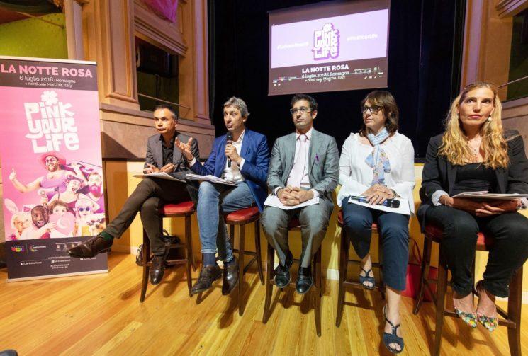 Pink your Life: venerdì 6 luglio la Notte si tinge di rosa in Romagna e Nord delle Marche