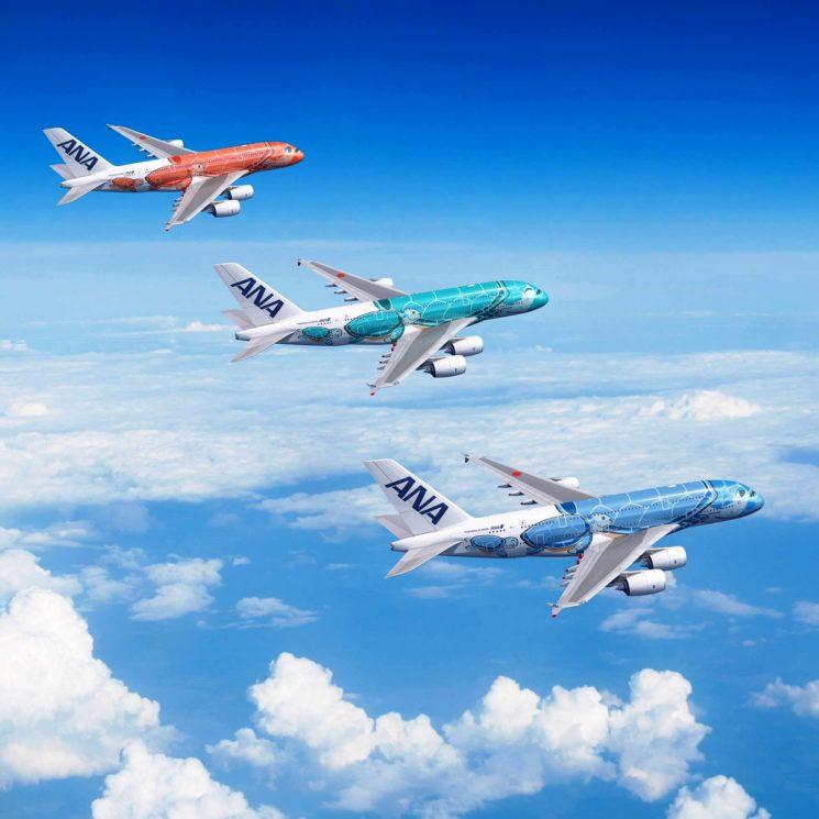 ANA opererà sulla rotta Tokyo – Honolulu con i nuovi aeromobili dalla primavera 2019