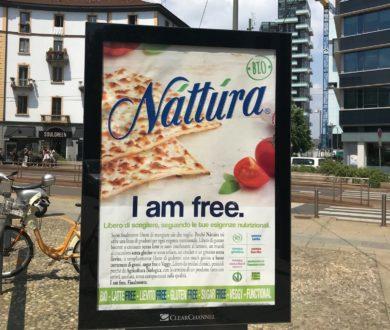 "On air la nuova campagna Náttúra ""I am free."""