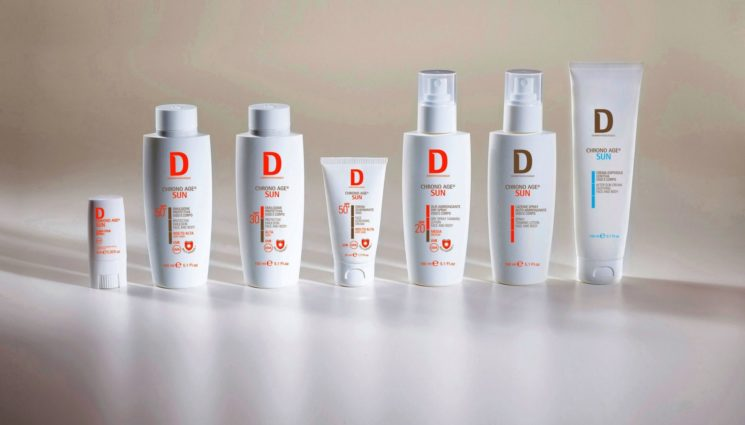 """Dermophisiologique: abbronzarsi senza """"invecchiare"""" con la Linea Chrono Age® Sun"""
