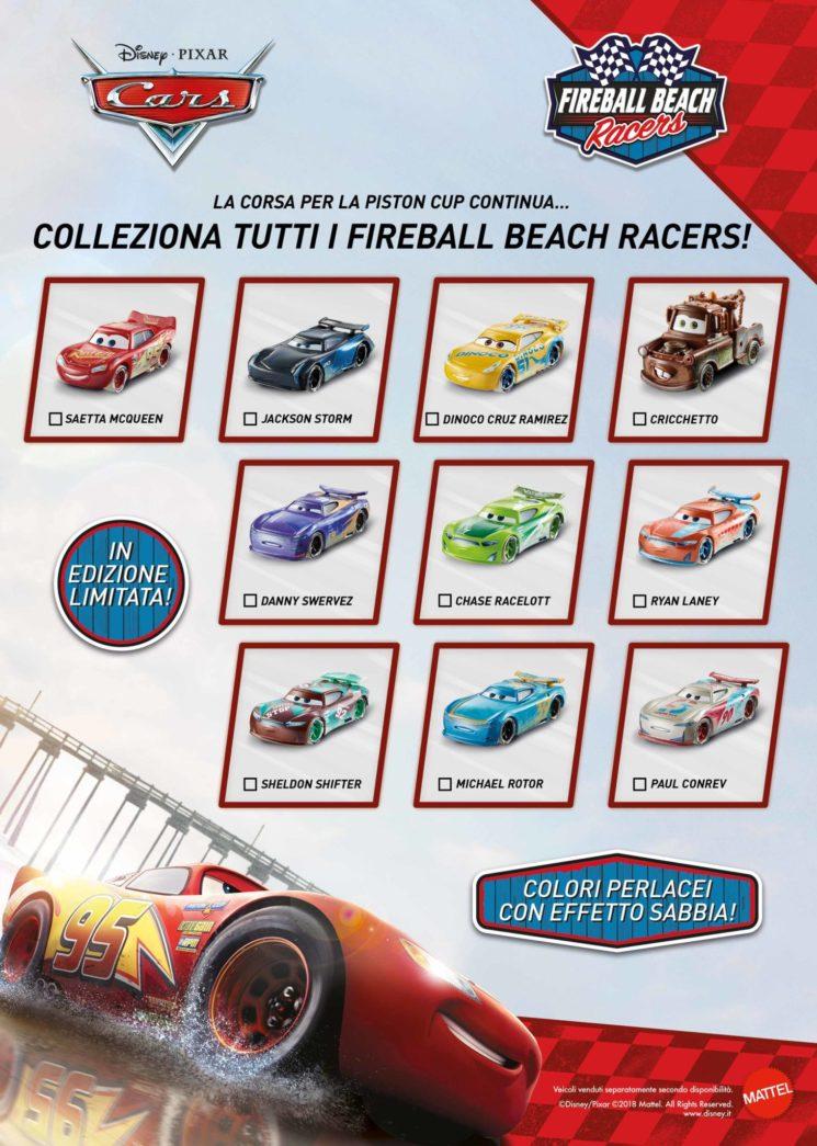 Cars Fireball Beach Racers protagonisti dell'estate