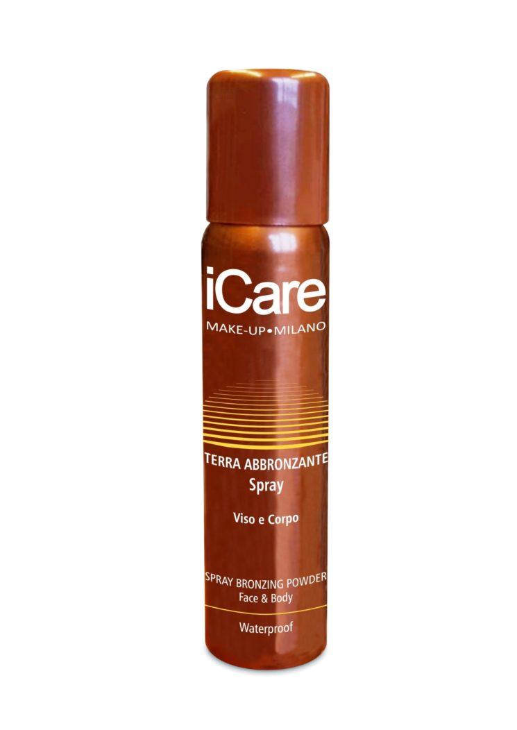 Vivere l'estate con Terra Abbronzante Spray iCare Viso e Corpo – Waterproof
