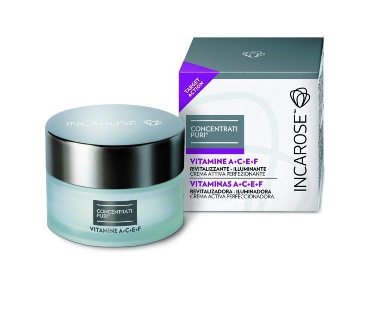 """Incarose: """"Concentrati Puri Vitamine A+C+E+F"""", due nuove formule di bellezza per pelli più giovani"""