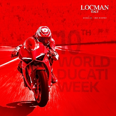 Locman official time keeper alla 10ª edizione della World Ducati Week