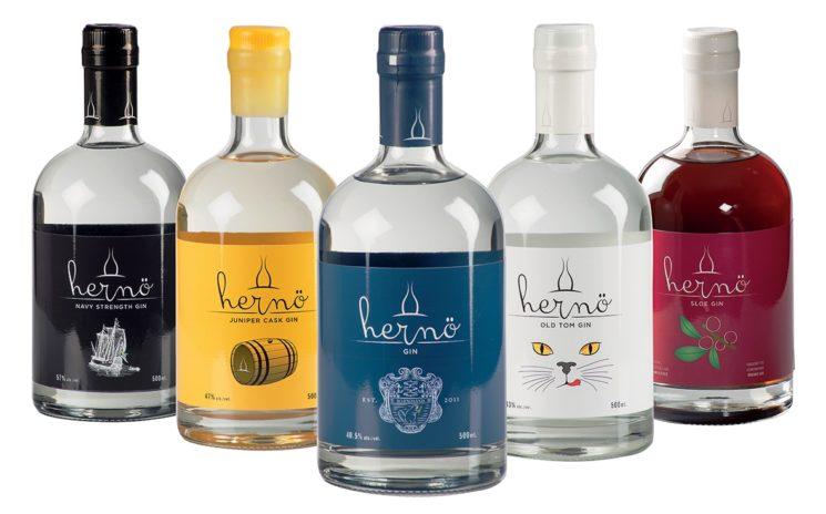 Hernö, il pluripremiato gin svedese