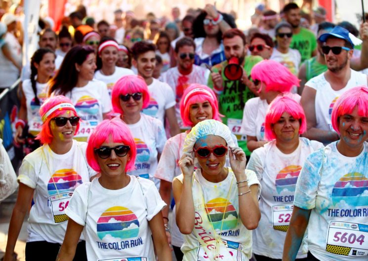 The Color Run powered by Skittles a Riccione