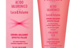 L'Erbolario   Acido Ialuronico Luce & Volume: 3 nuovi prodotti per la cura dei capelli