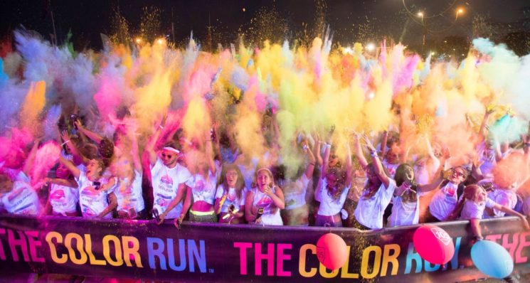 The Color Run torna a Lignano Sabbiadoro sabato 28 luglio