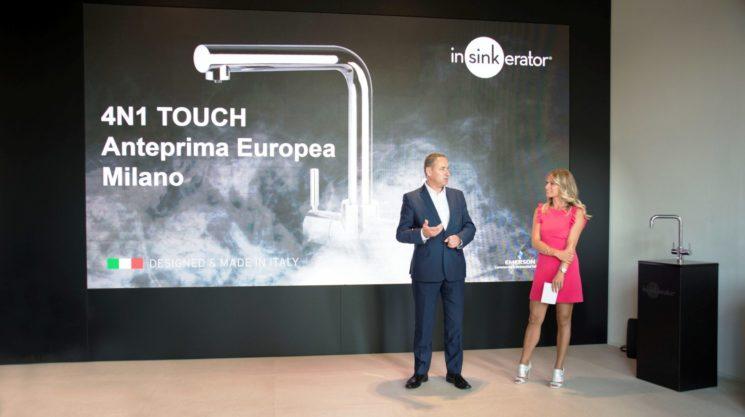 InSinkErator: nuovo 4N1 Touch, l'innovativo erogatore che coniuga tecnologia, design, salute e sostenibilitá