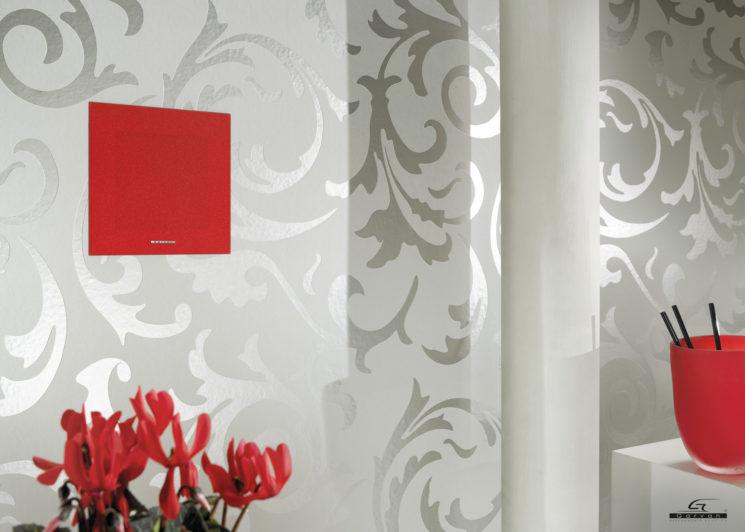 Armonia dell'architettura con i diffusori in-wall Garavan Acoustic