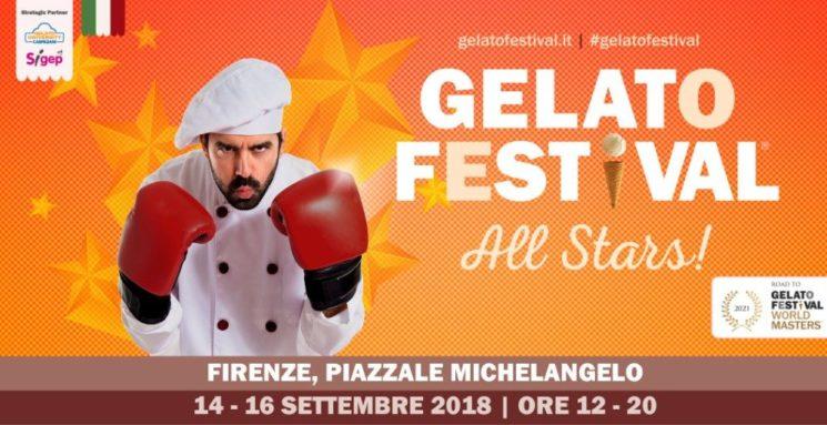 Il Gelato Festival a Firenze dal 14 al 16 settembre 2018