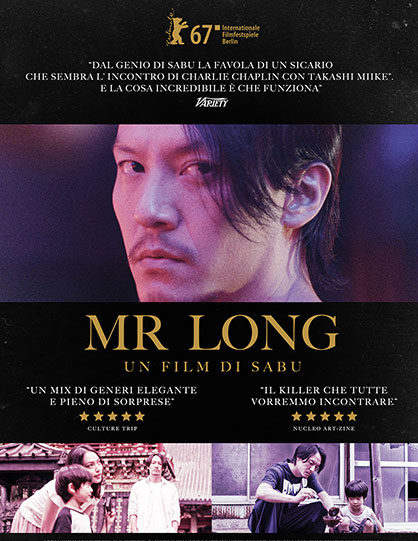 """Mr Long"", thriller nato dal genio del regista giapponese Sabu"