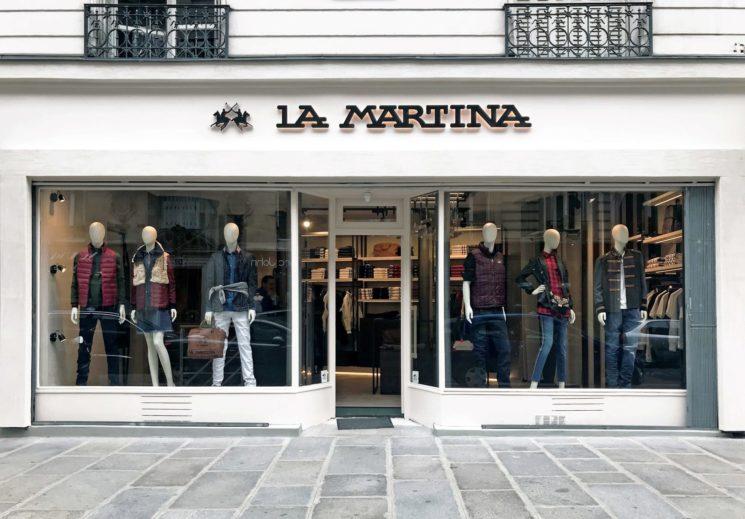 La Martina apre a Parigi
