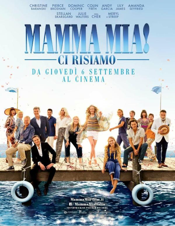 """""""Mamma mia! Ci risiamo"""", sequel romantico-musicale di """"Mamma mia!"""""""