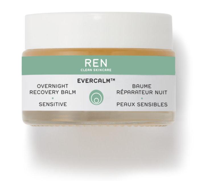 REN Clean Skicare: Evercalm™ Overnight Recovery Balm, nuovo trattamento notte