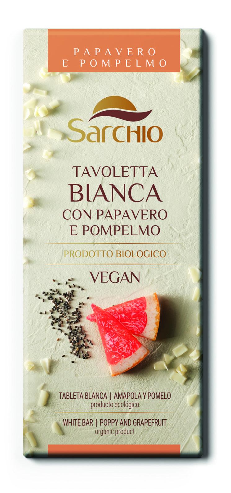 Sarchio: nuove tavolette di cioccolato biologiche gustose e naturali