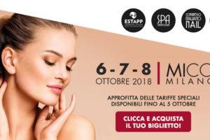 Esthetiworld by Cosmoprof 2018 apre oggi a Milano