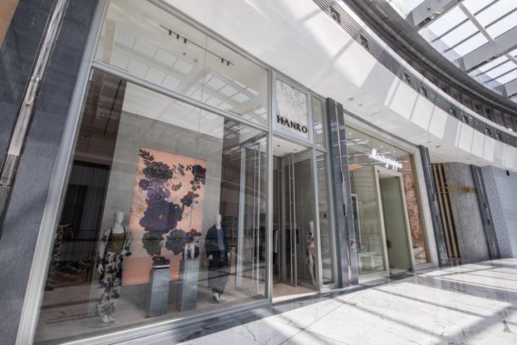 Hanro debutta negli Emirati Arabi Uniti con uno store a Dubai
