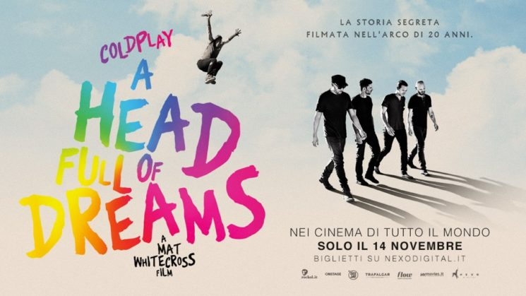 I Coldplay: 'A head full of dreams', film evento in anteprima mondiale